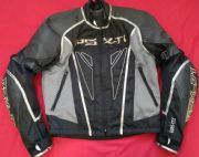 HEIN GERICKE PSX-T1 GTX GORETEX LEATHER TEXTILE JACKET UK 40 Chest  EU 52
